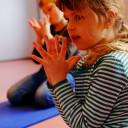 Yogakurs der Bernsteine
