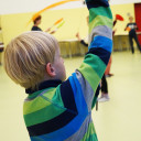 Besuch bei der Zirkus-AG: Jonglieren mit Tellern