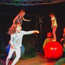 UniverSaale_SteinMalEins_Bunte Kooperation beider Schulen für eine tolle Zirkusshow_1