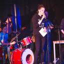 UniverSaale_SteinMalEins_Bunte Kooperation beider Schulen für eine tolle Zirkusshow_musikalische Unterstützung durch die Schülerband